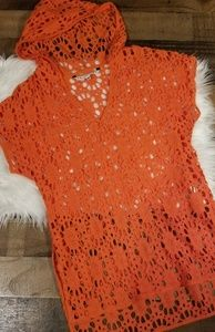 Trina Turk Crochet Cover-Up